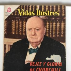 Tebeos: VIDAS ILUSTRES- CHURCHILL- NOVARO NUMERO 113 - AÑO 1965. Lote 74180727