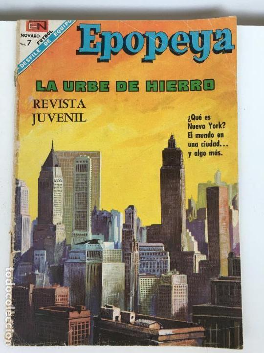 EPOPEYA- NOVARO NUMERO 119- AÑO 1968 (Tebeos y Comics - Novaro - Epopeya)