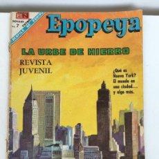 Tebeos: EPOPEYA- NOVARO NUMERO 119- AÑO 1968. Lote 74181099