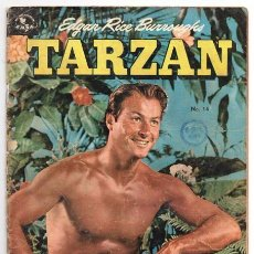 Tebeos: TARZAN # 14 NOVARO 1953 EMSA LEX BARKER EN TAPA LA HERMANDAD DE LA LANZA BUEN ESTADO 32 PAG. Lote 74216147