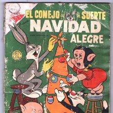 Tebeos: EL CONEJO DE LA SUERTE NUMERO EXTRAORDINARIO NAVIDAD NOVARO 1954 PORKY SILVESTRE MARY JUANA 96 PAGIN. Lote 74255019