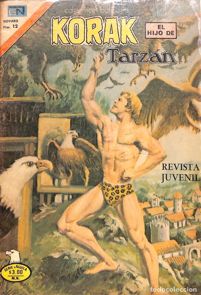 COMIC KORAK EL HIJO DE TARZAN - NOVARO , Nº 2-57 , 1977 (Tebeos y Comics - Novaro - Tarzán)