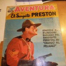 Tebeos: AVENTURA Nº 102 EL SARGENTO PRESTON EDITORIAL NOVARO 1959. Lote 75024787