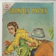 Tebeos: GRANDES VIAJES Nº 20: EL FINAL DE STANLEY, 1964, NOVARO USADO.. Lote 75278383