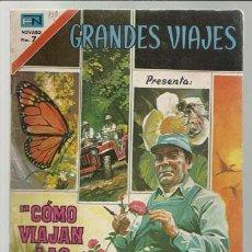 Tebeos: GRANDES VIAJES 138: COMO VIAJAN LAS PLANTAS, 1973, NOVARO, BUEN ESTADO.. Lote 75280467