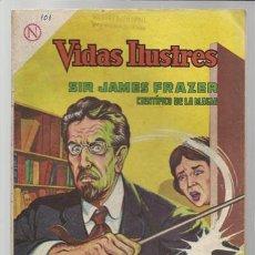 Tebeos: VIDAS ILUSTRES 101: SIR JAMES FRAZER, CIENTIFICO DE LA MAGIA, 1964, NOVARO, BUEN ESTADO.. Lote 75289807