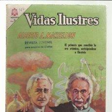 Tebeos: VIDAS ILUSTRES 137: ALBERTO A. MICHELSON, 1966, NOVARO, BUEN ESTADO.. Lote 75785427