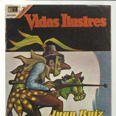 Tebeos: VIDAS ILUSTRES 175: JUAN RUIZ DE ALARCÓN, 1967, NOVARO, BUEN ESTADO.. Lote 75786535