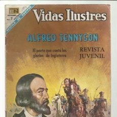 Tebeos: VIDAS ILUSTRES 180: ALFRED TENNYSON, 1968, NOVARO, BUEN ESTADO.. Lote 75786779