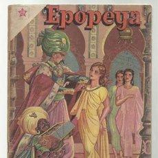 Tebeos: EPOPEYA Nº 9: SOLIMÁN FRENTE A RODAS, 1959, NOVARO, BUEN ESTADO.. Lote 75807235