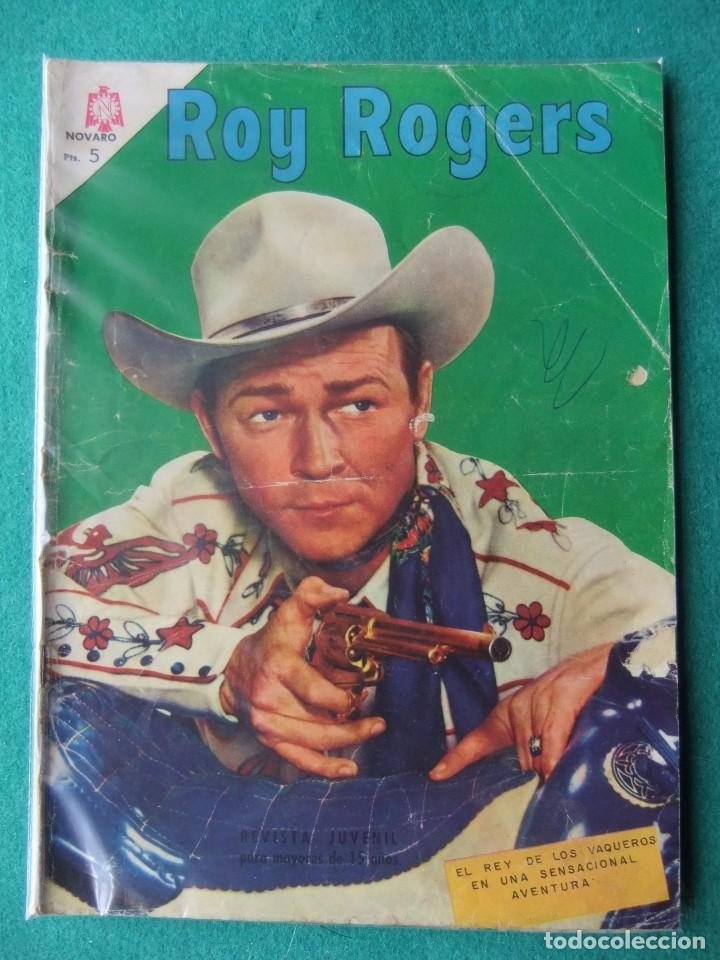 ROY ROGERS Nº 167 NOVARO (Tebeos y Comics - Novaro - Roy Roger)