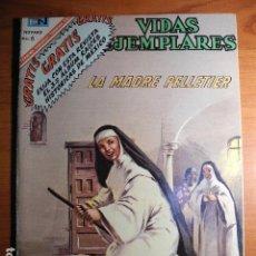 Tebeos: LA MADRE PELLETIER. VIDAS EJEMPLARES. AÑO XIV, Nº 246 NOVARO. Lote 76405927