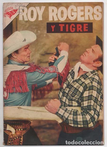 Tebeos: ROY ROGERS # 49 NOVARO 1956 Y ROY ROGERS AND TRIGGER # 96 DELL 1955 MISMO COMIC MUY BUEN ESTADO - Foto 2 - 77370373