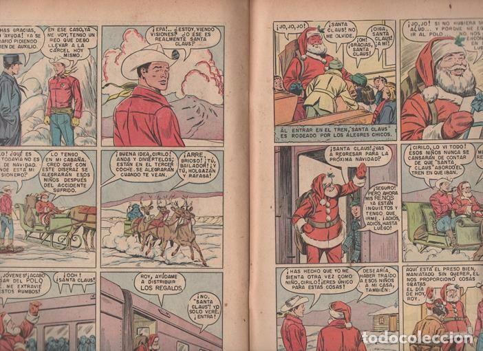 Tebeos: ROY ROGERS # 49 NOVARO 1956 Y ROY ROGERS AND TRIGGER # 96 DELL 1955 MISMO COMIC MUY BUEN ESTADO - Foto 4 - 77370373