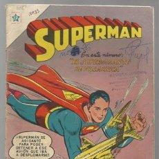 Tebeos: SUPERMAN 106, 1957, NOVARO USADO. Lote 77385981