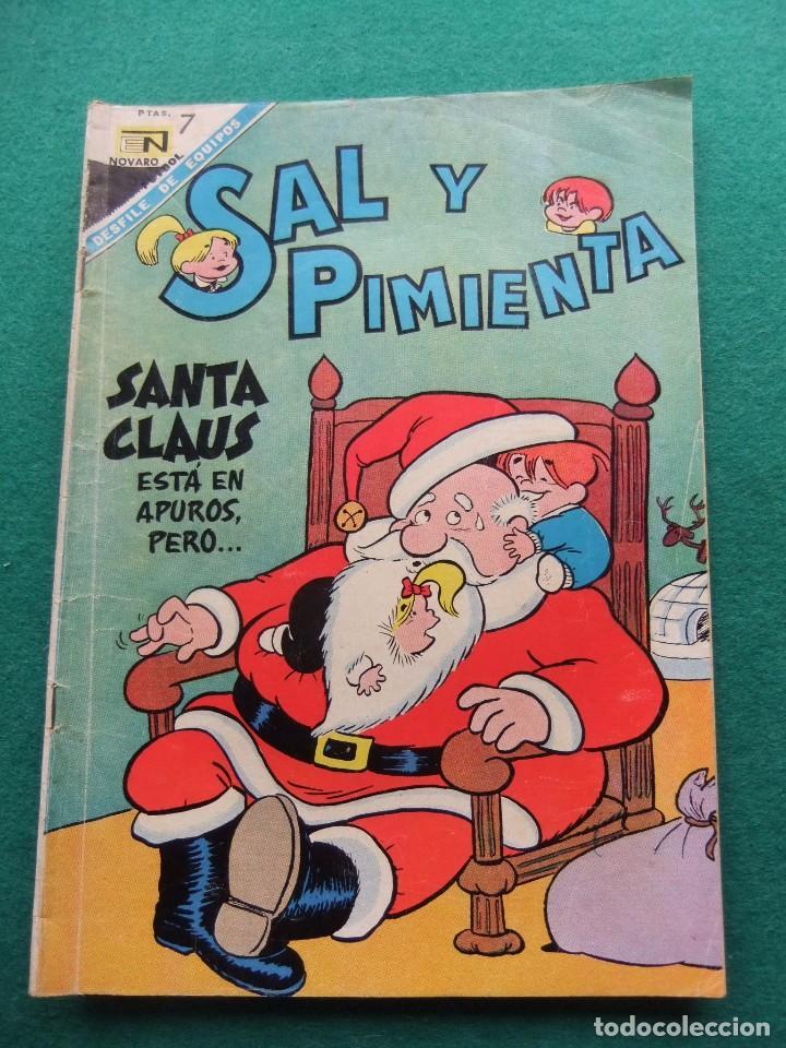 SAL Y PIMIENTA Nº 37 EDITORIAL NOVARO (Tebeos y Comics - Novaro - Otros)
