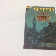 Tebeos: EPOPEYA Nº 116 LA CIUDAD DE LONDRES -ED. EDITORIAL NOVARO 1968. Lote 77574229