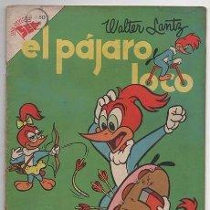 Tebeos: EL PAJARO LOCO # 69 NOVARO 1955 WALTER LANTZ OSWALDO ANDY PANDA POLLITO CARLOS MUY BUEN ESTAD. Lote 77670025