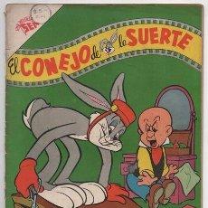 Tebeos: EL CONEJO DE LA SUERTE # 70 NOVARO 1956 ELMER GRUÑON PORKY SAM BIGOTES BUEN ESTADO 40 # EN VENTA. Lote 77670285