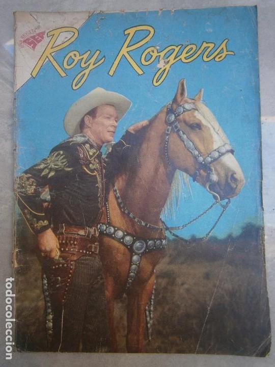 ROY ROGERS N° 104 - ORIGINAL EDITORIAL NOVARO (Tebeos y Comics - Novaro - Roy Roger)