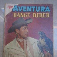 Tebeos: RANGE RIDER - AVENTURA N° 163 - ORIGINAL EDITORIAL NOVARO. Lote 77927105