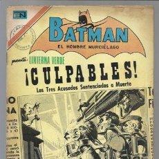 Tebeos: BATMAN 618, 1972, NOVARO USADO. Lote 78011813