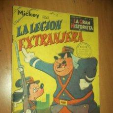 Tebeos: MIKEY EN LA LEGUION EXTRANJERA TEBEO LA GRAN HISTORIETA EDIT. ABRIL 1948 T/COLOR. Lote 78125437