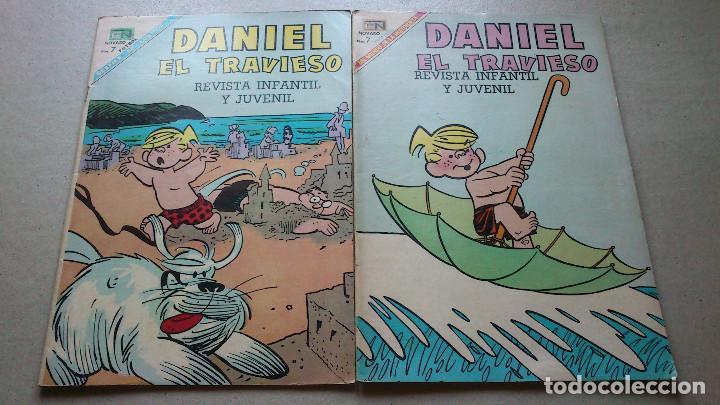 DANIEL EL TRAVIESO 52 Y 55 - NOVARO - LOTE DOS EJEMPLARES EN BUEN ESTADO (Tebeos y Comics - Novaro - Otros)
