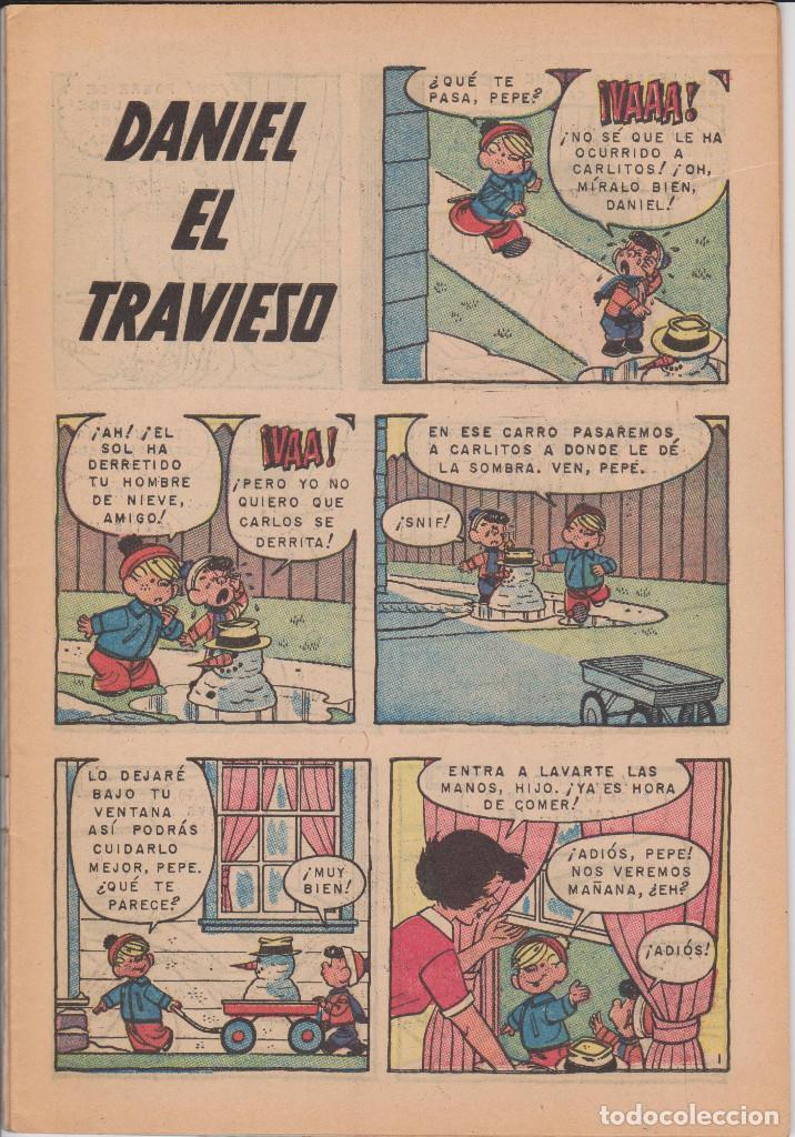 Tebeos: DANIEL EL TRAVIESO 52 Y 55 - NOVARO - LOTE DOS EJEMPLARES EN BUEN ESTADO - Foto 5 - 78156893