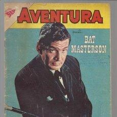Tebeos: AVENTURA 177: BAT MASTERSON, 1961, NOVARO, BUEN ESTADO.. Lote 78210433