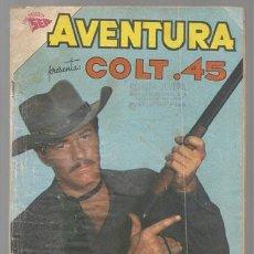 Tebeos: AVENTURA 181: COLT. 45, 1961, NOVARO. Lote 78210709