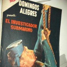Tebeos: DOMINGOS ALEGRES PRES. EL INVESTIGADOR SUBMARINO..NUM. 418 NOVARO. Lote 78238361
