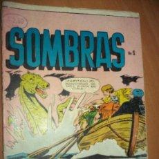 Tebeos: SOMBRAS PRES. TERROR MISTERIO NUM ..6 1957 EDIT. NEWSPAPER 1957. Lote 185994177