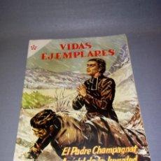 Tebeos: 1018- TEBEO - VIDAS EJEMPLARES- EL PADRE CHAMPAGNAT , APOSTOL N º 19 - AÑO 1955. Lote 138744266