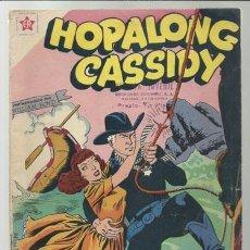 Tebeos: HOPALONG CASSIDY 60, 1959, NOVARO, PROCEDENTE ENCUADERNACIÓN O RETAPADO.. Lote 78843265