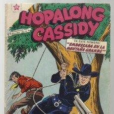 Tebeos: HOPALONG CASSIDY 57, 1959, NOVARO EN BUEN ESTADO, PROCEDENTE DE ENCUADERNACIÓN O RETAPADO. Lote 78843601