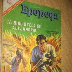 EPOPEYA N.100 LA BIBLIOTECA DE ALEJANDRIA..