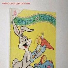 Tebeos: EL CONEJO DE LA SUERTE - 243 ED. NOVARO 1966. Lote 79106981