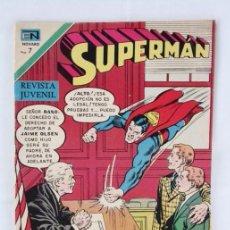 Tebeos: SUPERMAN NUMERO 839. JAIME EL HUÉRFANO - NOVARO, AÑO 1971. Lote 79107725