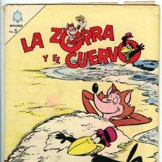 Tebeos: LA ZORRA Y EL CUERVO. AÑO XV, Nº 174. 1 JUNIO 1965. MÉXICO. 32 PÁGINAS. Lote 79144553