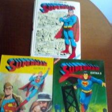 Tebeos: SUPERMAN 3 TOMOS COLECCION COMPLETA. Lote 79166061