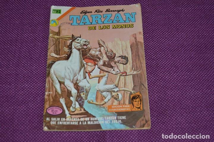 NOVARO - ORIGINAL - TARZAN DE LOS MONOS - Nº 319 - 1972 - EDICION PARA COLECCIONISTAS - ANTIGUO (Tebeos y Comics - Novaro - Tarzán)