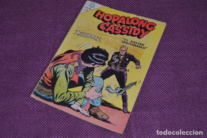 NOVARO - ORIGINAL - HOPALONG CASSIDY - Nº 137 - 1966 - ANTIGUO Y ORIGINAL (Tebeos y Comics - Novaro - Hopalong Cassidy)
