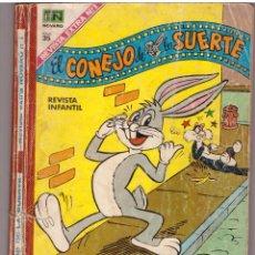 Tebeos: COMIC EL CONEJO DE LA SUERTE. REVISTA EXTRA NOVARO Nº 1 - 160 PAGINAS; EDITORIAL NOVARO. Lote 121417599