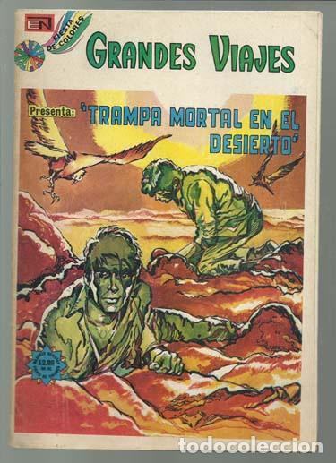 GRANDES VIAJES 149, 1974, NOVARO, BUEN ESTADO. (Tebeos y Comics - Novaro - Grandes Viajes)