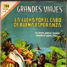 Livros de Banda Desenhada: GRANDES VIAJES. LA LUCHA POR EL CABO DE BUENA ESPERANZA. Nº 50. 1 DE MARZO DE 1967. Lote 80848079