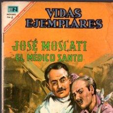BDs: VIDAS EJEMPLARES. JOSE MOSCATI. EL MEDICO SANTO. Nº 242. 1 DE ABRIL DE 1967. Lote 80850067