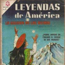 Tebeos: LEYENDAS DE AMERICA - LA GUERRA DE LOS ASTROS Nº 124. Lote 80904036
