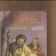 Tebeos: MUJERES CELEBRES - LA VALEROSA MIKAL Nº 62. Lote 80904608