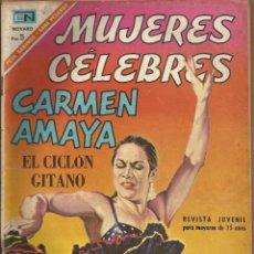 Tebeos: MUJERES CELEBRES - CARMEN AMAYA Nº 71. Lote 80904792